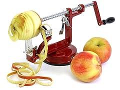Cast Iron Apple And Potato Peeler Corer And Slicer