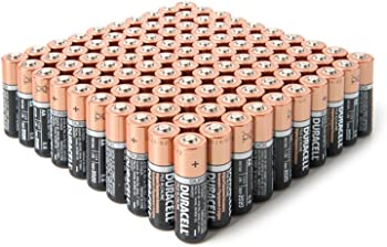 100-Pack Duracell AAA CopperTop Duralock Batteries