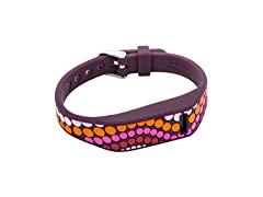French Bull Fitbit Flex Replacement Band w/ Chrome Watch Clasp - 100% Silicone