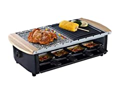 NUTRICHEF Two-Tier Food Prep Raclette