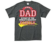 """""""Dad's Greatest """" 100% Cotton T-Shirt"""