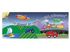 Cars & Trucks Room Sign