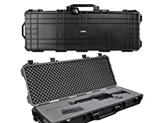 "Eylar 44"" Roller Rifle Case Black"