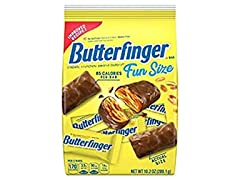 Butterfinger Fun Size Bag, 6pk