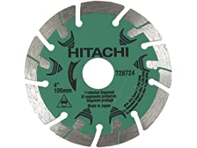 "Hitachi 4"" Segmented Rim Diamond Saw Blade"