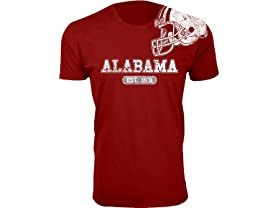 Men's Awesome College Football Helmet T-shirts