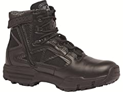 "Belleville Chrome Zip WP 6"" Uniform Boot (Open Box)"