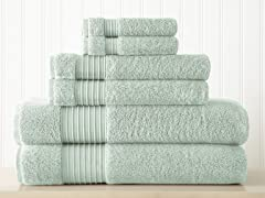 6-Pc 100% Turkish Cotton 700GSM Towel Set