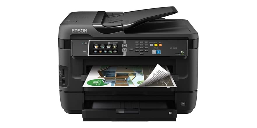 Epson Workforce 7620 Color Aio Printer