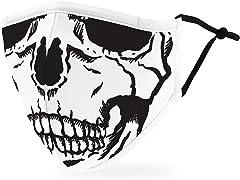 Skull Adult Size Face Mask