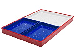 Zak Designs Nested Trays - Set of 4