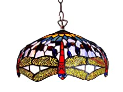 Dragonfly 2-light Pendant Fixture