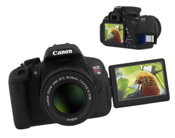Canon Rebel T5i DSLR Camera w/18-55 lens