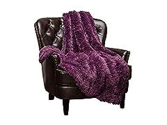 Chanasya Super Soft Shaggy Throw Blanket
