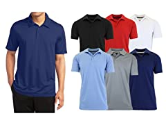 Men's 3-Pack Assorted Performance Polos