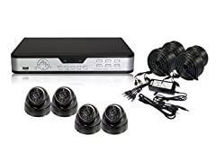 4CH H.264 Camera System with 500GB DVR