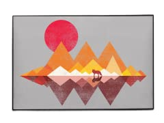 """Place To Call Home"" Indoor/Outdoor Mat"