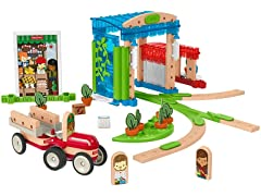 Fisher Price Wonder Makers Build Around Town Kit
