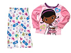 Doc McStuffins 2-Piece Fleece Set(2T-4T)