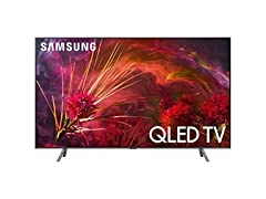Samsung 8 Series - Flat QLED 4K UHD Smart TV