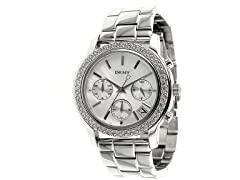 Glitz Mother-of-Pearl Dial Women's Watch