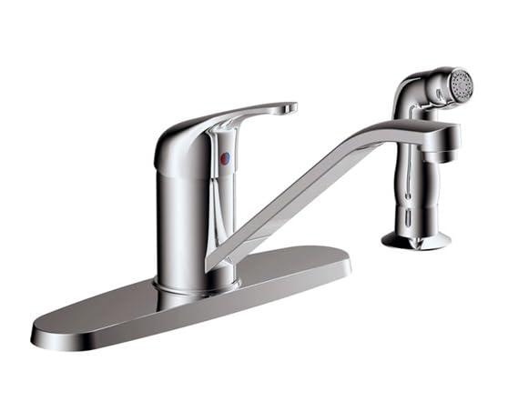 Kitchen Faucet Chrome Tools Garden