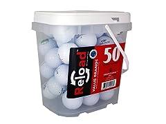 50pk of Recycled Topflite Golf Balls
