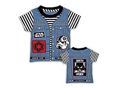 Punk Vader Kids Tee (4-7)