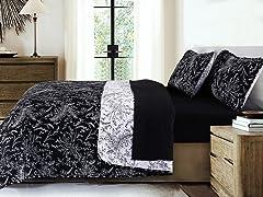 Southshore Fine Linens Reversible Quilt Sets