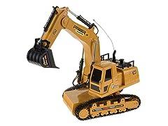 Remote Control Excavator Toy