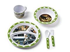 5-Piece Melamine Set - Kittens
