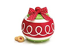 Christmas Ornament Cookie Jar