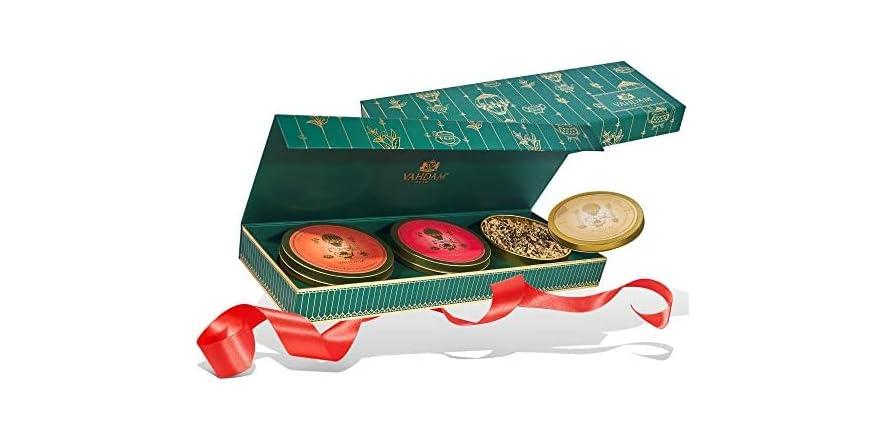 VAHDAM, Chai Tea Private Reserve Trio - 3 Teas in a Tea Sampler Gift Box   WOOT