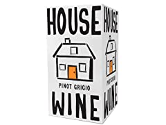 House Wine Pinot Grigio, 3L Box (3)