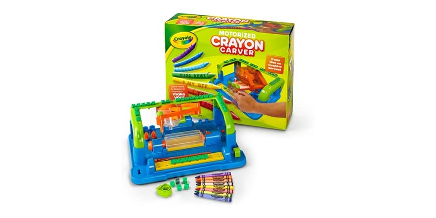 Best Crayola Toys For Kids : Crayola crayon carver bundle kids toys