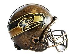 Seahawks NFL Helmet Statue