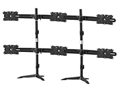 Amer Networks AMR6S32 Hex Monitor Stand