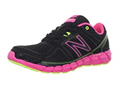 Women's 750-V1 Running Shoe, Black/Pink