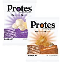 24 Pack Protes Protein Popcorn Sweet & Savory: White Cheddar and Sweet Cinnamon