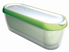 Glide-a-Scoop Ice Cream Tub: Pistachio Green