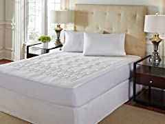 EUROPEDIC™ Quilted 4-Z Mattress Enhancer - 3 Sizes