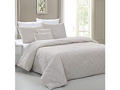 Carter Diamond Embossed Comforter Set