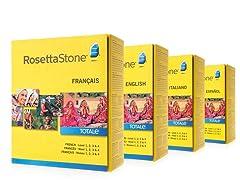 Rosetta Stone Levels 1-4: (Your Choice)