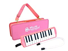 25-Key Puff-n-Play Melodica-Pink