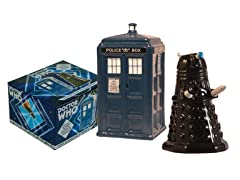 TARDIS & Dalek Salt and Pepper Set
