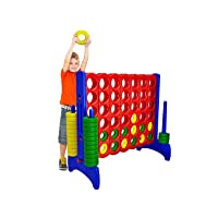 Deals on Giantville Giant 4-in-a-Row Connect Game
