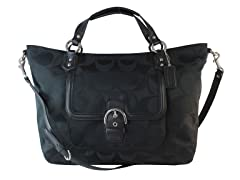 Campbell Izzy Fashion Satchel, Sig Black