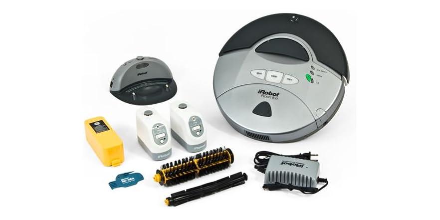 Irobot Roomba 415 Robotic Vacuum Cleaner Bundle