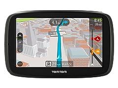 "TomTom 5"" GPS w/ Lifetime Maps & Traffic"