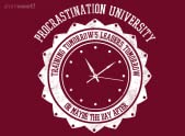 Procrastination University